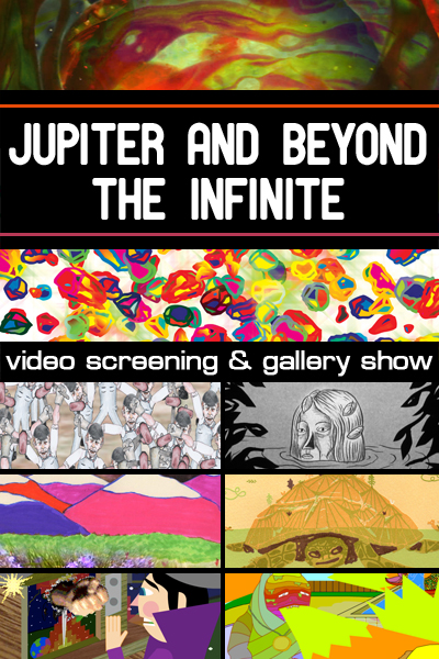 'Jupiter and Beyond the Infinite' group show this Fri @ Synchronicity Space