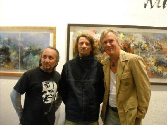 LA legends Yem, Mear One and Anthony Ausgang