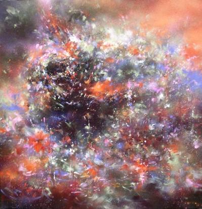 """Mr. Jago """"Industrial Evolution"""" / Mixed media on canvas"""