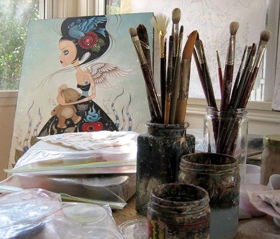 Caia's studio