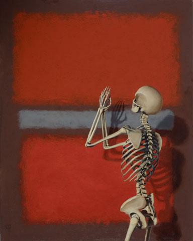 """Chris Peters """"Pray To Rothko"""" - 60x48"""""""
