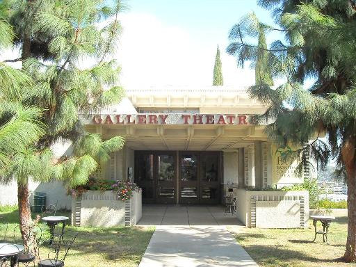 The front of the historic Barnsdall Gallery Theatre