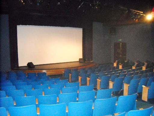 Inside the Barnsdall Gallery Theatre