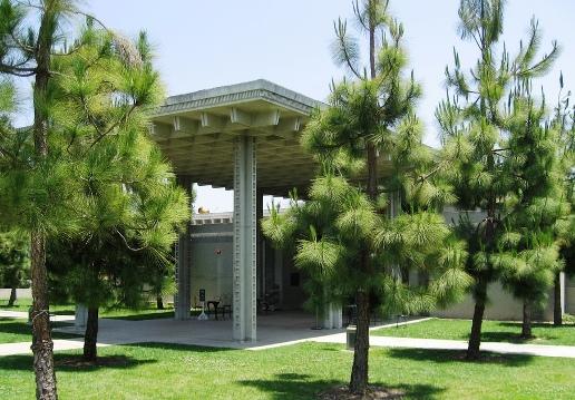 The LA Municipal Art Gallery at Barnsdall Art Park