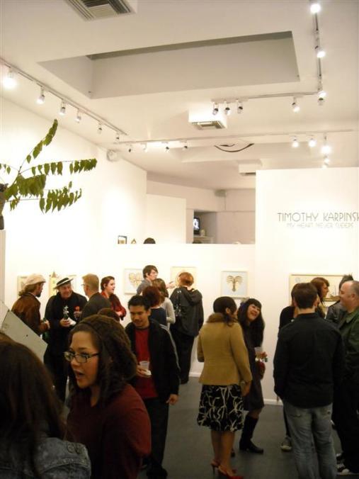 Main gallery view opening night