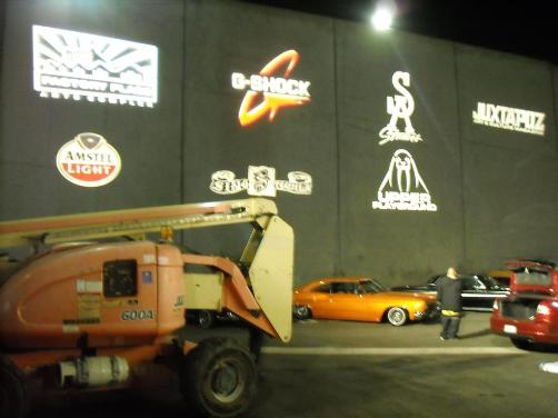 The lot outside will be filled with amazing lowriders and much more...