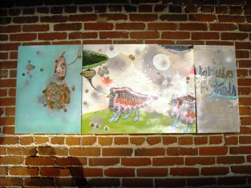 An epic Thomas Campbell triptych - bid now at charitybuzz.com