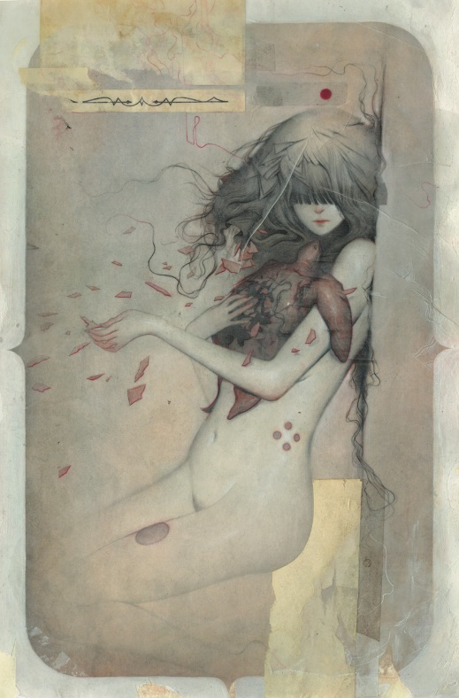 "Joao Ruas - ""Haunted No. 20"" - new work for show in NYC"