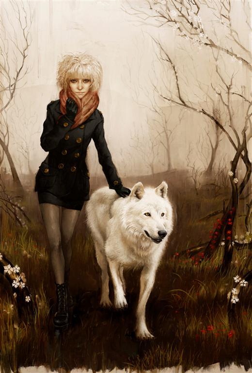 """Rory Kurtz """"Britta and the Wolf"""""""