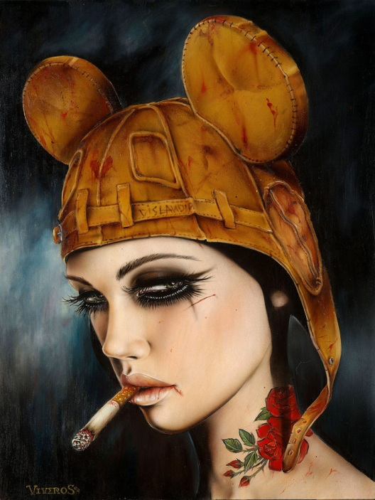 Brian Viveros 'Where The Wild Girlz Smoke'