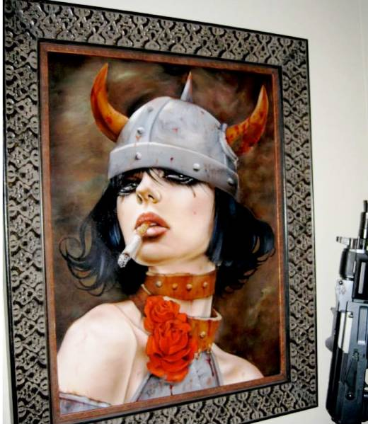 Brian Viveros - showing this weekend at Copro Gallery