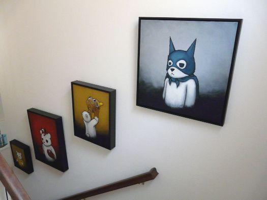 Wall of Luke Chueh originals