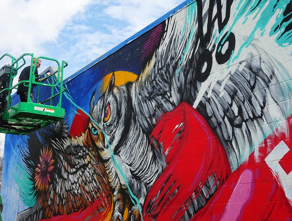 Meggs Mural Barton Springs Austin TX