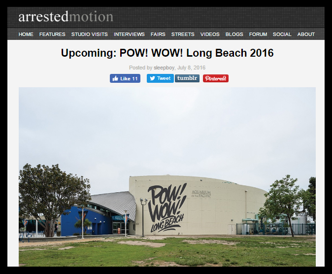 Long Beach Arrested Motion 2016