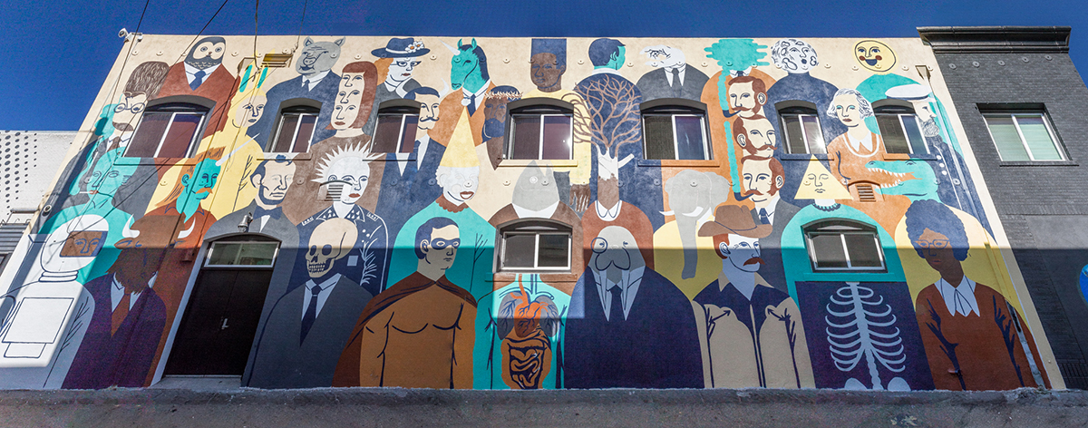 Pow Wow Long Beach Mural