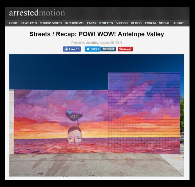 Arrested Motion Pow! Wow! AV