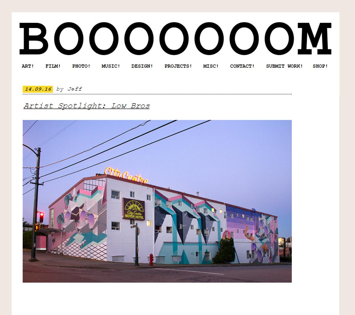 LOW BROS BOOOOOOOM