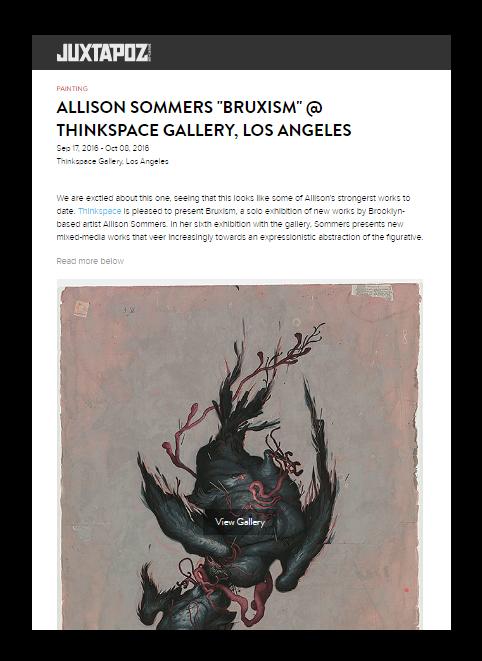 Allison Sommers Juxtapoz