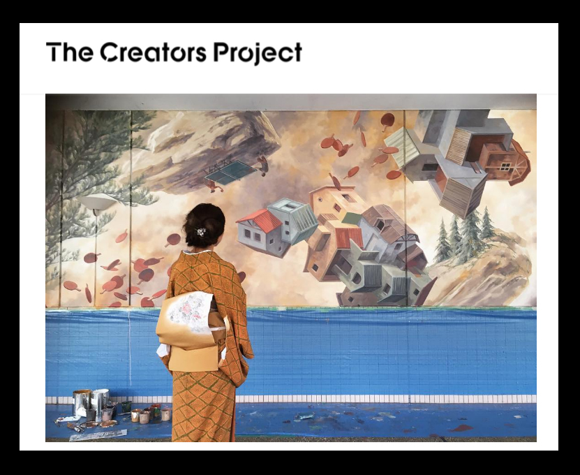 creators project Emerging artists are a force for positive impact we support, connect, and amplify their creativity.