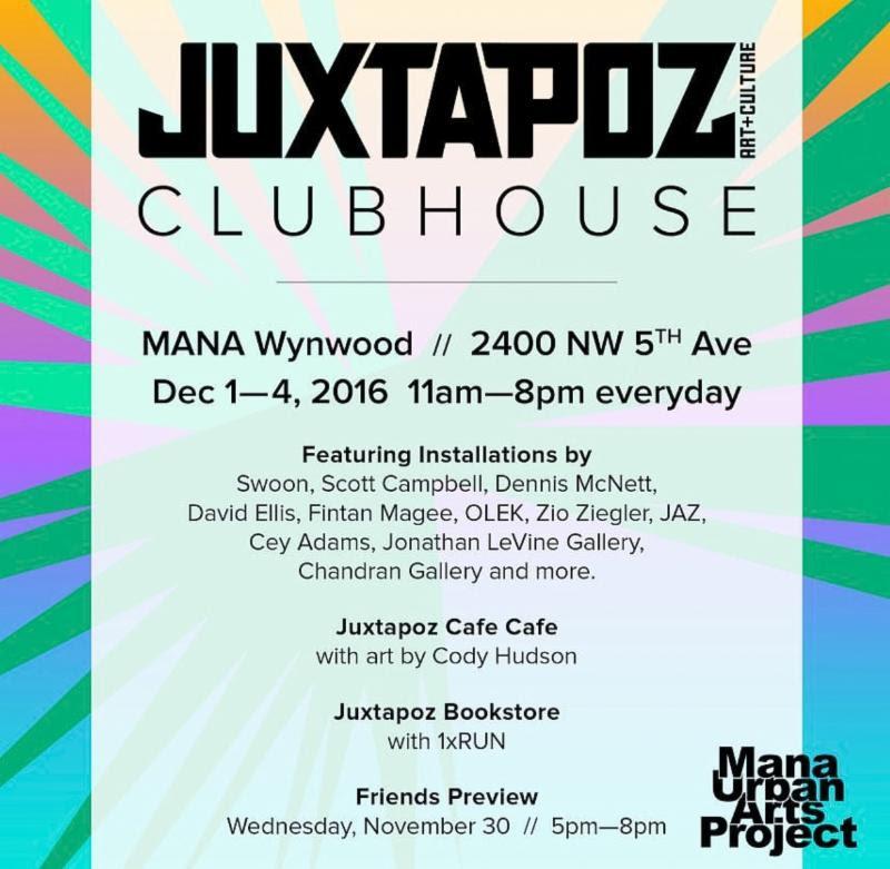 Juxtapoz Clubhouse