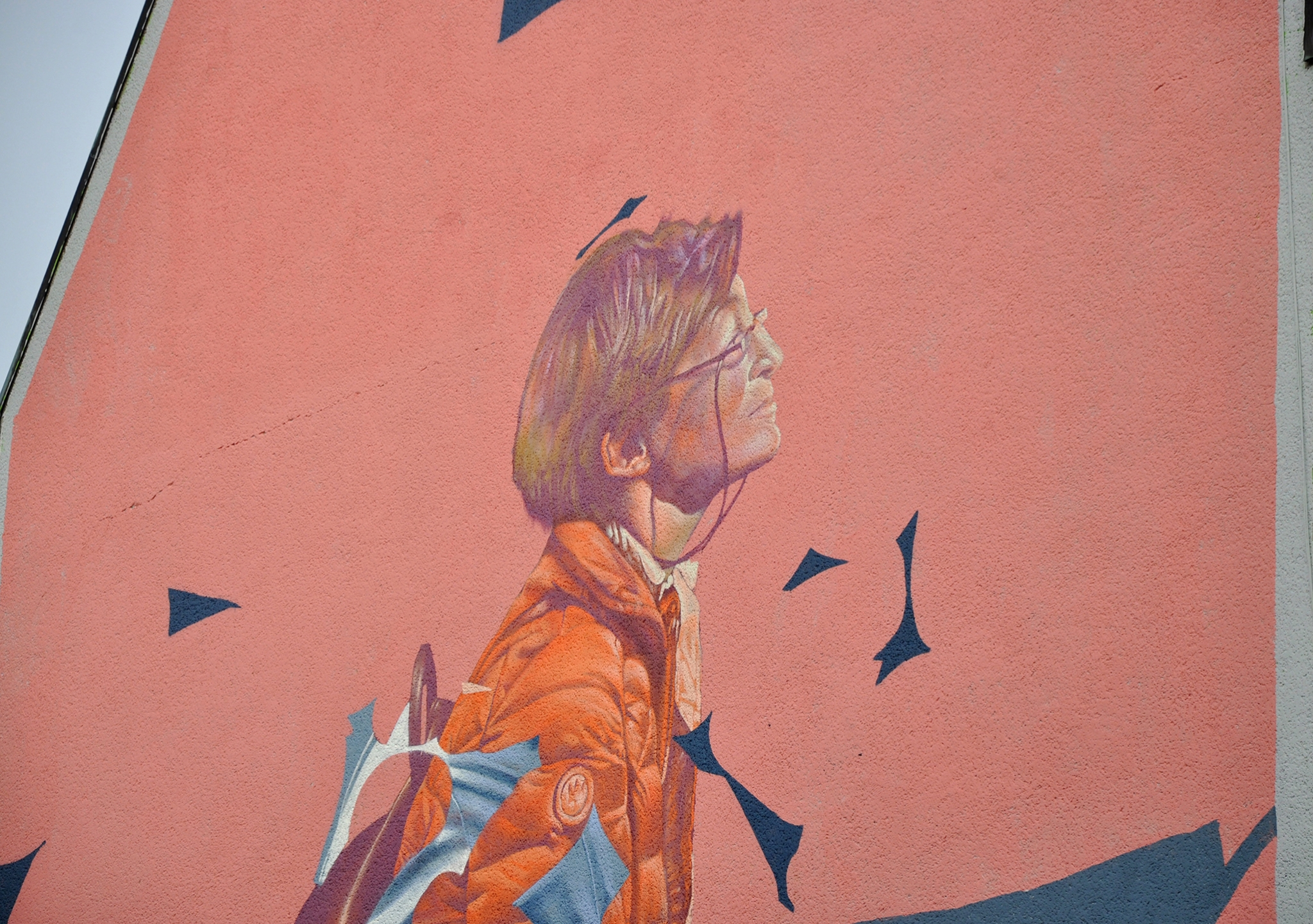 "New Mural from Telmo Miel ""We're All The Same, But ..."