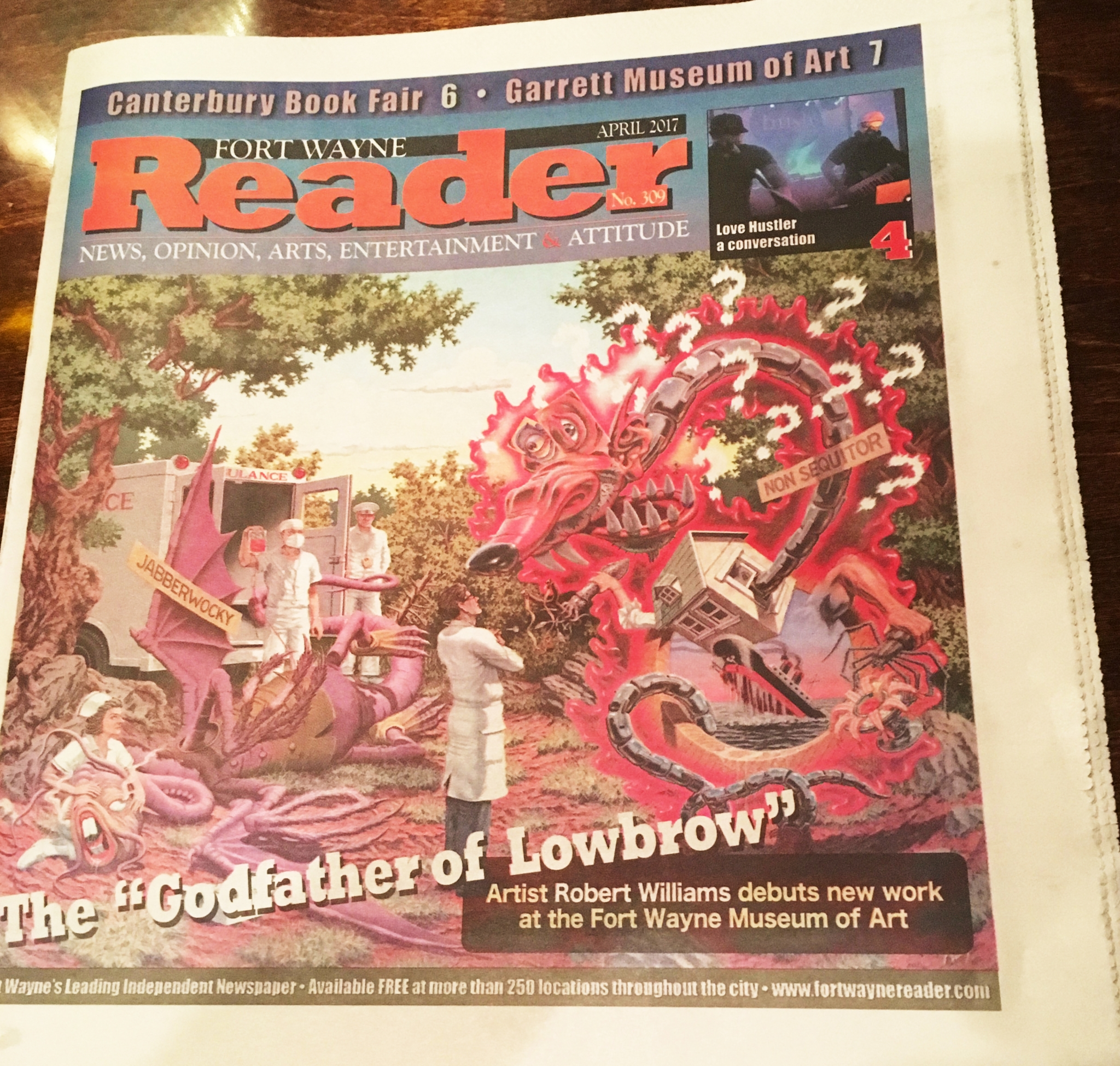 Fort Wayne Reader Cover