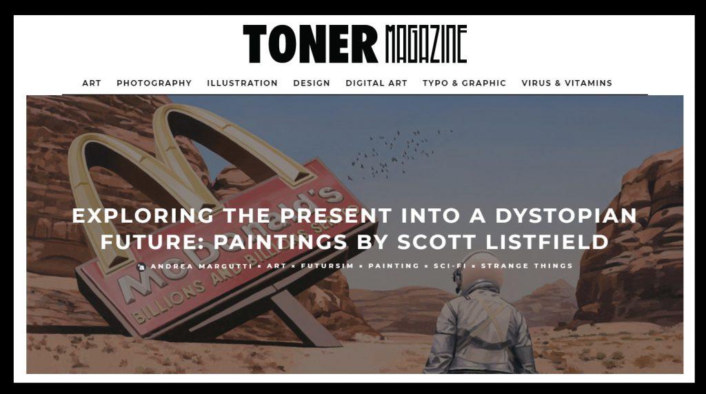 Toner Magazine Scott Listfield
