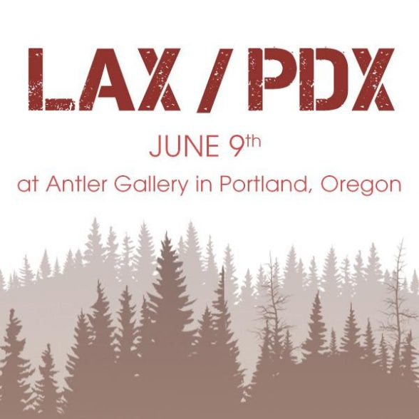 LAX PDX ANTLER GALLERY